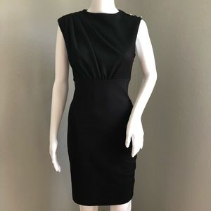 Ted Baker London Sheath Dress Black Sleeveless